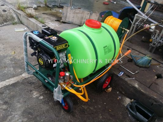 SEASON SS-160 Heavy Duty Trolley Power Pressure Sprayer Pump 160L(Tank