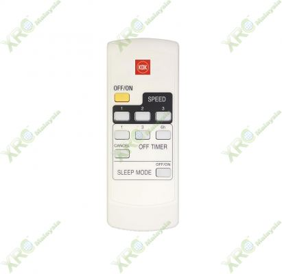 K14Y9 KDK CEILING FAN REMOTE CONTROL
