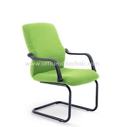 HOLA VISITOR CHAIR C/W EPOXY BLACK CANTILEVER BASE