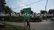 Direction Signboard Direction Signboard