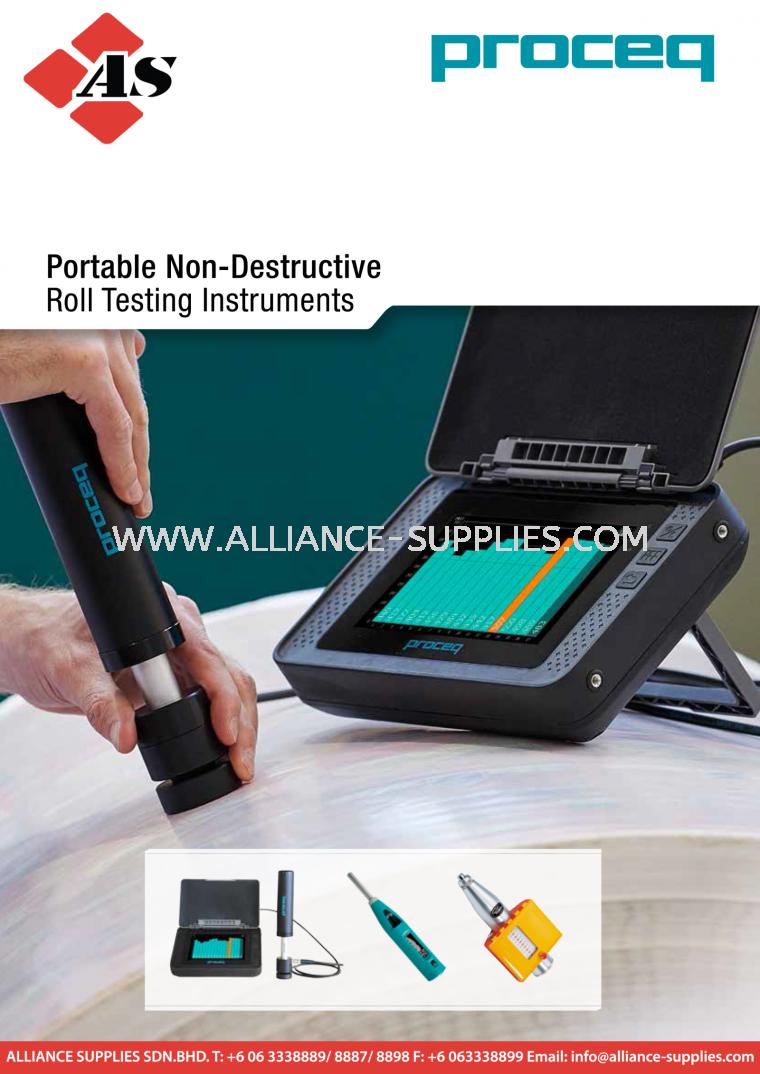 PROCEQ Equotip Roll Hardness Testing Family (NEW)-Equotip 550 LEEB U Roll Hardness Tester/ PaperSchmidt/ Original Schmidt (L/LR) 4.02 Roll Hardness Testing 04.PROCEQ