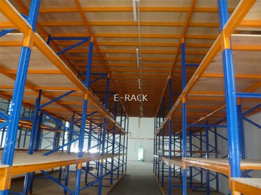 HEAVY DUTY STOREGE - HEAVY DUTY RACKING CW MEZZANINE FLOOR
