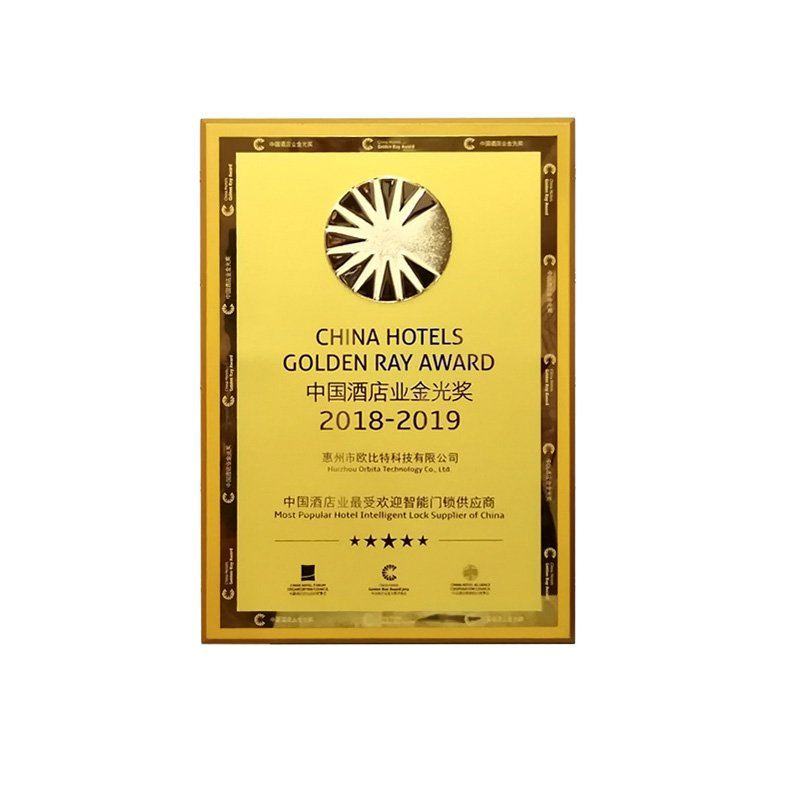 ORBITA WON CHF GOLDEN RAY AWARD