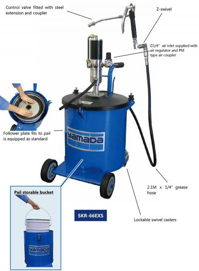 Air Operated Oil Bucket Pump (SKR-66EXS)