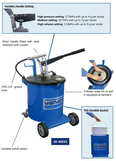 Hand Grease Bucket Pump (SK-66EXS)