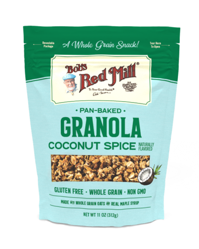 Pan-Baked Granola Coconut Spice