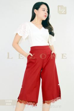 5504 LACE LAYER CULOTTES 【1ST 10% 2ND 15% 3RD 20%】