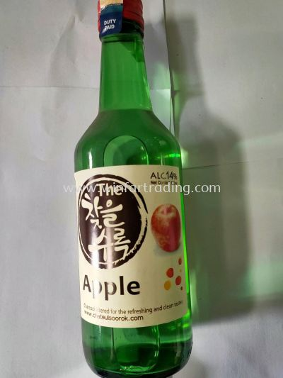 KOREAN CHATEUL SOOROK APPLE 15% 360ML