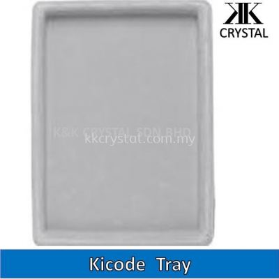 BEAD BOARD KICODE TRAY ,GREY WITH FLOCKING