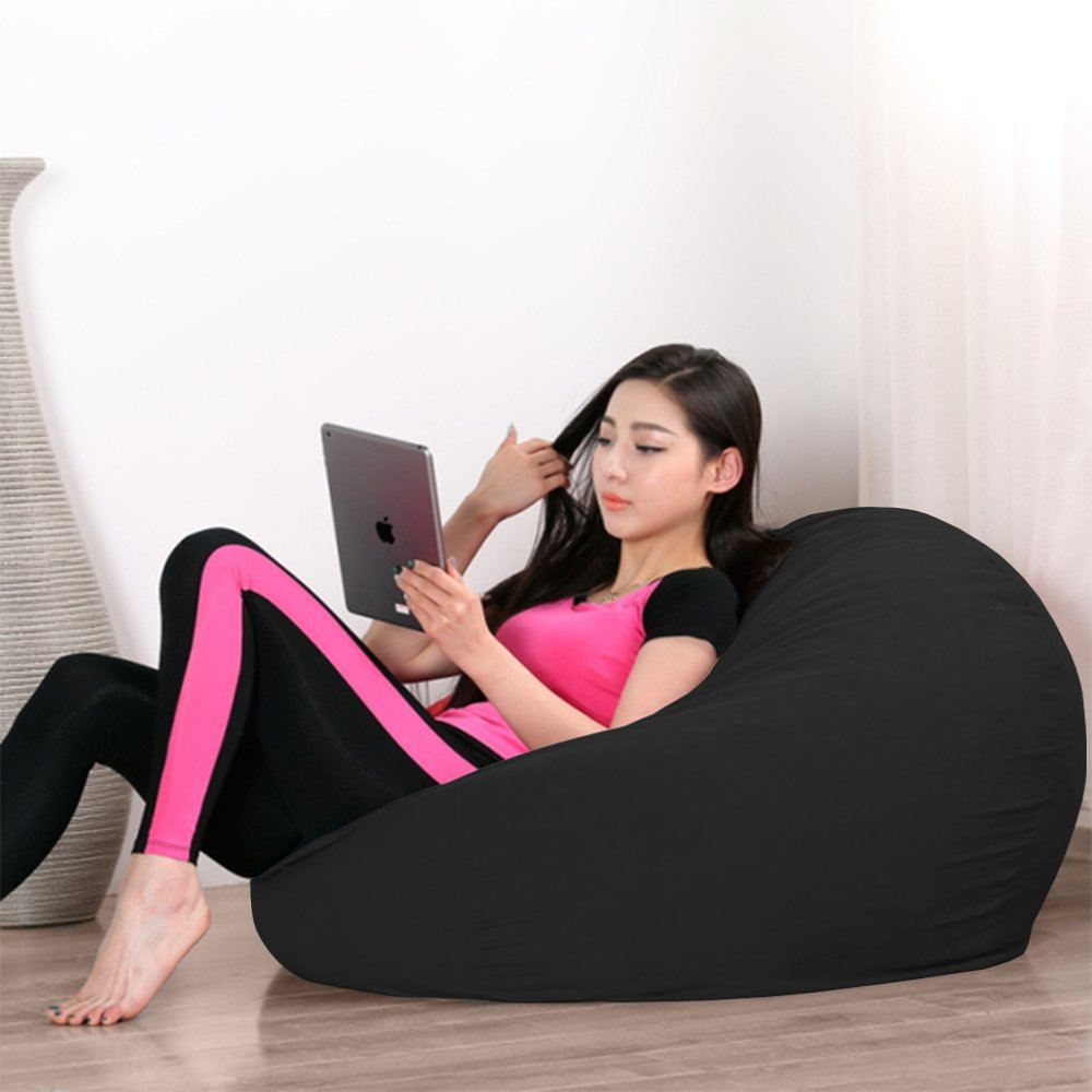 Excellent 2 5Kg Japanese Style Laid Back Fluffy Comfy Fabric Bean Caraccident5 Cool Chair Designs And Ideas Caraccident5Info