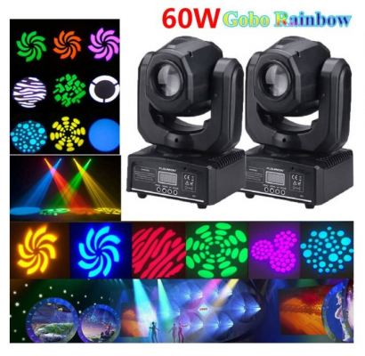 60W Mini Moving Head Gobo LIght