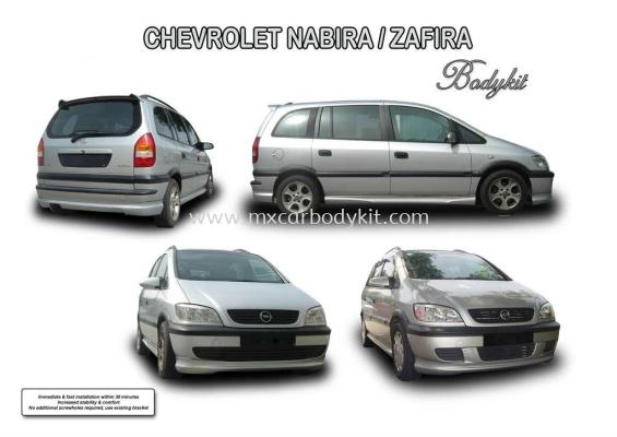 CHEVROLET NABIRA / ZAFIRA AM STYLE BODYKIT