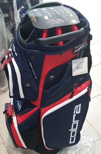 Cobra Golf 2019 Ultralight Cart Bag Navy/Red/White