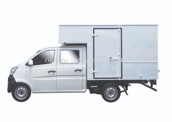 Double Cabin Luton Box Van