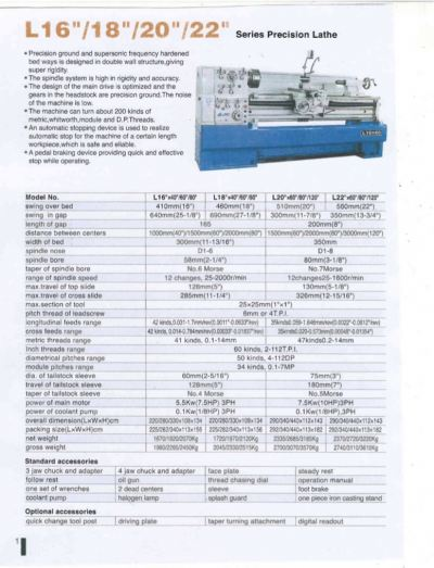 New Promach Brand Lathe Machine