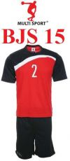 BJS 15 - Red Quick Dry Jersey Tshirt / Uniform