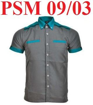 PSM 09/03 - Charcoal & Turquoise