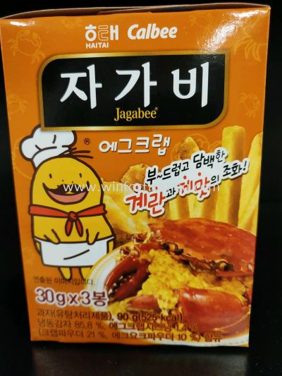 HAITAI JAGABEE POTATO STICK CRAB FLAVOR 合装