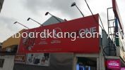 Red one network sdn bhd 3D Led conceal box up lettering and giant billboard at sekinchan Selangor 3D LED BOX UP BILLBOARD