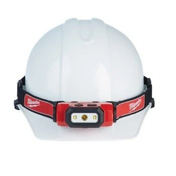 RedLithium USB Rechargeable Hard Hat Lamp