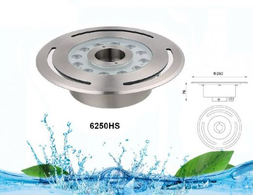 JL FULL STAINLESS STEEL DRY FOUNTAIN LIGHT