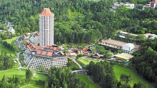 Awana Genting Highlands Golf & Country Club Attractions
