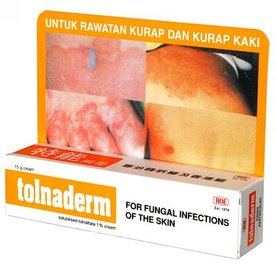 TOLNADERM CREAM 15GM