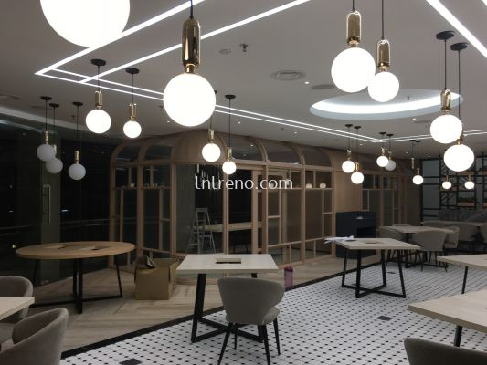 Renovation project for restaurant at Bangsar