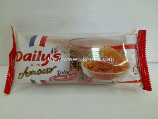 Daily's Amour Spicy Chicken Floss 55gm