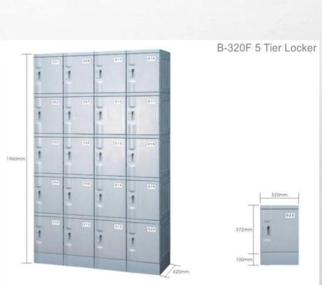 B320-F 5tier locker