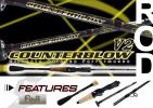 COUNTERBLOW V2 - Casting Fishing Rod ROD SENSES