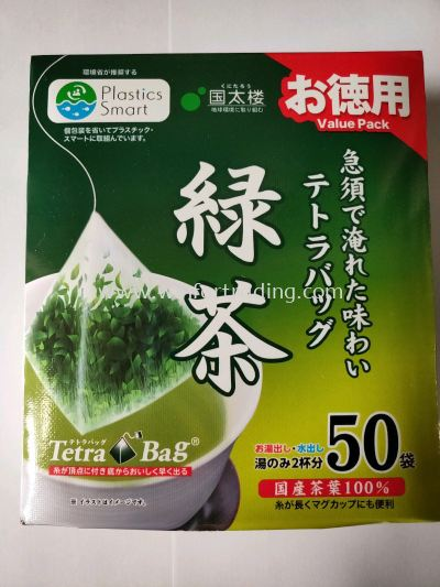 KUNITARO TETRA BAG GREEN TEA  100G 50P 4971617017469