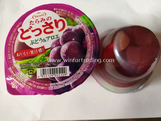TAMARI DOSSARI GRAPE AND ALOR JELLY 230G 4955129025129