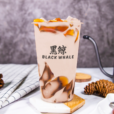 Black Crystal Milk Tea