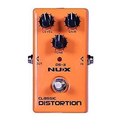 NUX DS-3 Distortion Guitar Pedal True Bypass with Classic & Blues Rock Tone
