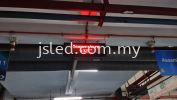 LED Display Red - Temperature Single Color LED Display