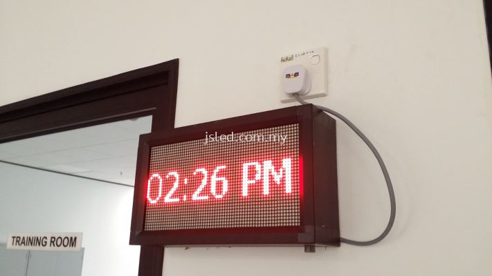 LED Display Red - Time