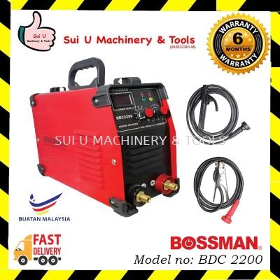 BOSSMAN BDC 2200 InverterWelding machine 220amp c/w accessories