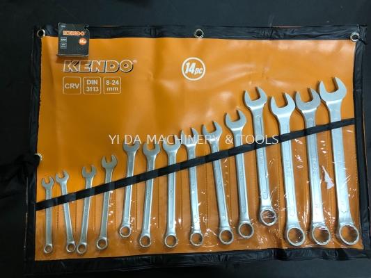 KENDO COMBINTION SPANNER SET 14PCS
