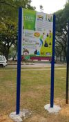 puchong Metal structure sign Metal Cutting Signage