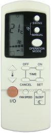 MAC25DGM MISTRAL AIR CONDITIONING REMOTE CONTROL MISTRAL AIR CONDITIONING REMOTE CONTROL