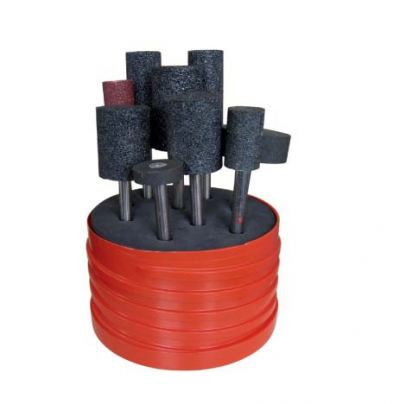 10Pc Resin Bonded Mounted Point Set (TMGW2580010T)