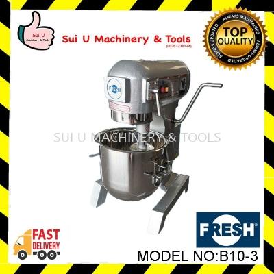 FRESH B10-3 Food Mixer 10 Litre 0.6kW/230V/50Hz