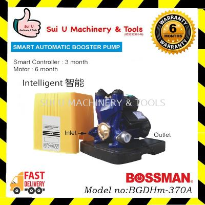 BOSSMAN BGDHm-370A Smart Automatic Booster Pump 370w(0.5hp)
