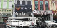 ipoh 3d led signboard 3D Box Up Lettering