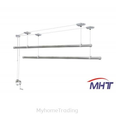 GW933 STAINLESS STEEL LIFTING DRYING HANGER