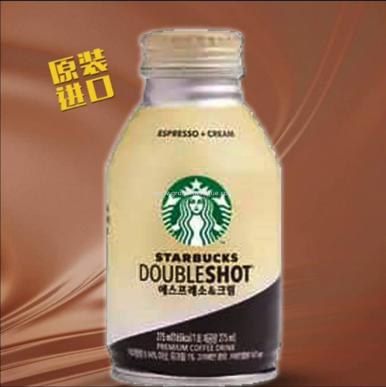 STARBUCKS DOUBLESHOOT ESPRESSO +CREAM
