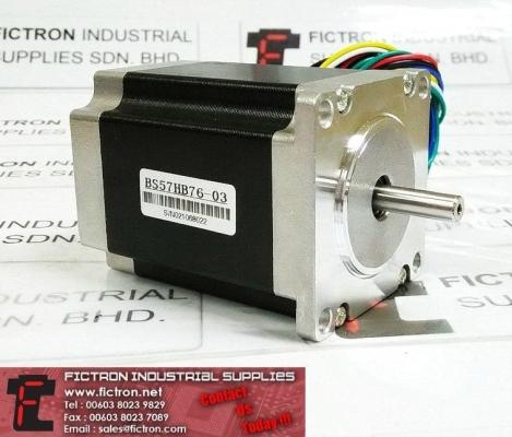 BS57HB76-03 BS57HB7603 BAISHAN Stepper Motor Supply Repair Malaysia Singapore Thailand Indonesia USA