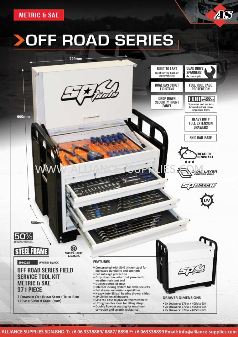 SP OFF ROAD SERIES - FIELD SERVICE 2.02 SP Tool Kits 02.SP TOOLS