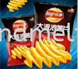 LAY'S PURE SPICY CHIPS  LAY'S CHIPS CHINA SNACK ITEM